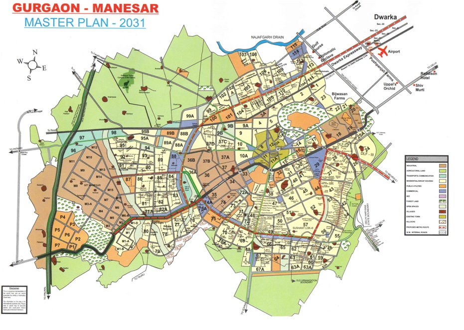 Gurgaon Master Plan