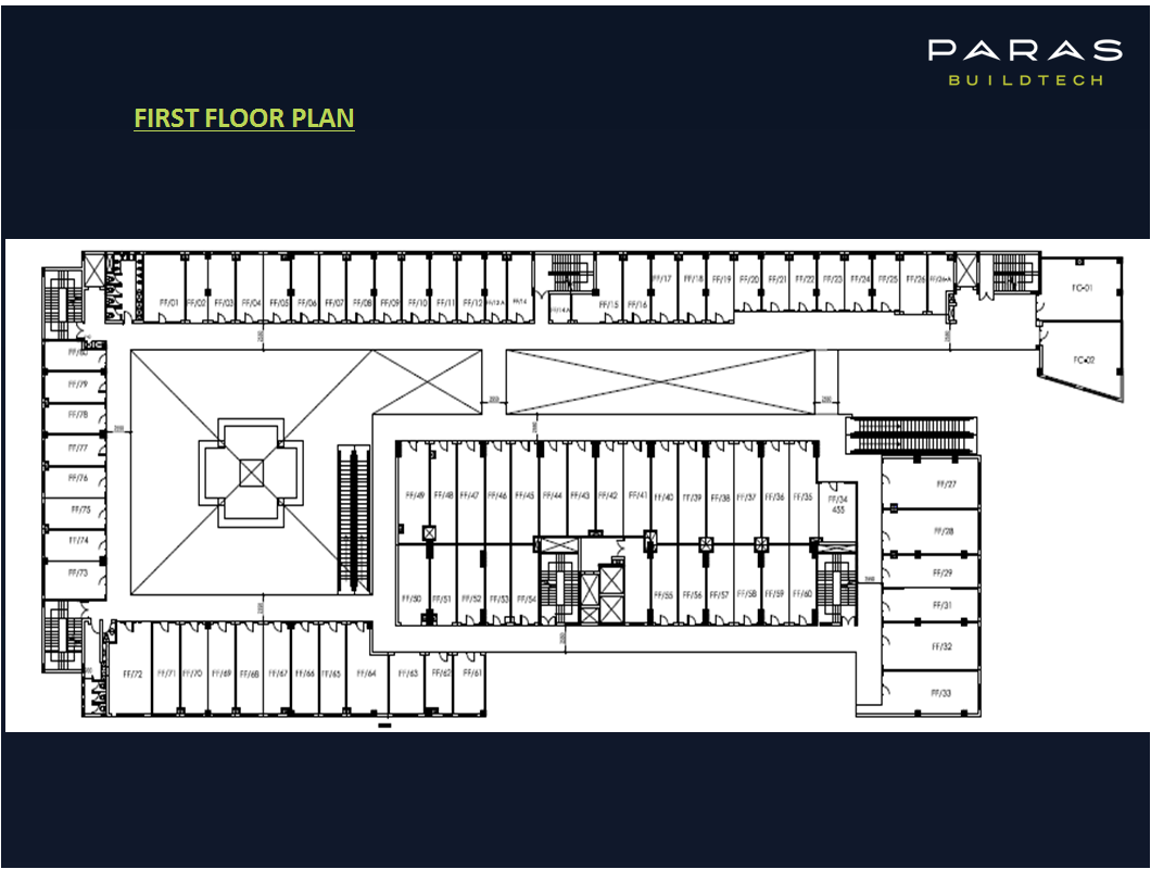 Paras square sector 63a gurgaon retail project 9650813405 for Retail apartment plans