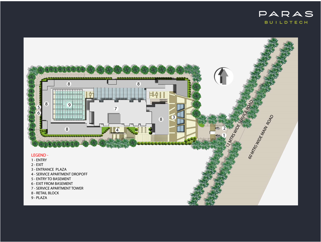 Paras Square Location Map