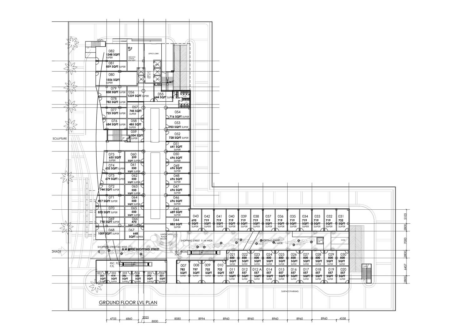 Spaze Corporate Park Ground Floor Plan